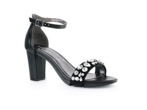 Alinio Block heel with Gem Rhinestone shoe accessory