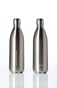 BBBYO Future Bottle - Silver -  Stainless Steel - Insulated - 1000 ml