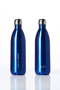 BBBYO Future Bottle - Blue -  Stainless Steel - Insulated - 1000 ml