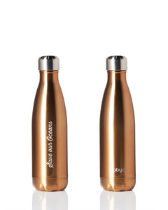 BBBYO Future Bottle + carry cover - stainless steel insulated bottle - 500 ml - Attica print