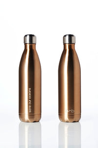 BBBYO Future Bottle + carry cover - stainless steel insulated bottle - 750 ml - Butterfly print