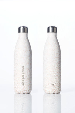 BBBYO Future Bottle -  Stainless Steel - Insulated - 750 ml - Whitesand
