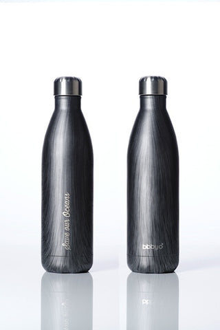 BBBYO Future Bottle -  Stainless Steel - Insulated - 500 ml - Blackwood