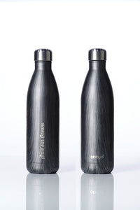 * Super Sale - BBBYO Future Bottle + carry cover - stainless steel insulated bottle - 750 ml - Globe Lights print