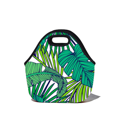 * Super Sale - Lunchtime Bag by BBBYO - Frond print