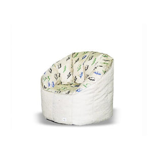 * Super Sale - Pumpkin Beanbag Chair (Teen to Adult) - Bolt print