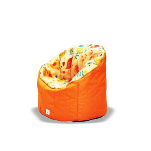 * Super Sale - Pumpkin Beanbag Chair (Kids) - Tweet print