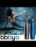 BBBYO Future Bottle - Blue -  Stainless Steel - Insulated - 750 ml