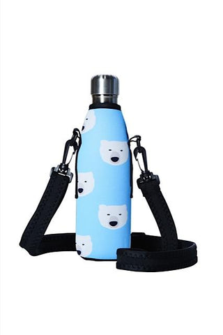 TRVLR by BBBYO carry cover - with shoulder strap - 500 ml - Polar print