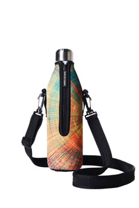 TRVLR by BBBYO carry cover - with shoulder strap - 750 ml - Spiral print