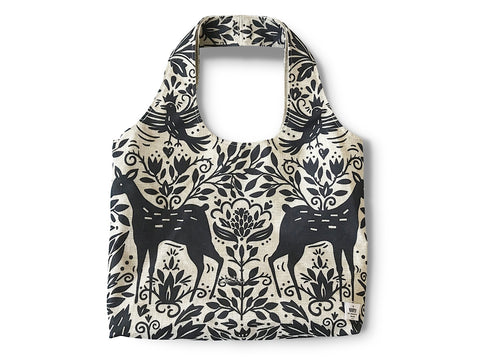 Everyday Bag by BBBYO - Poly Linen - Deer print