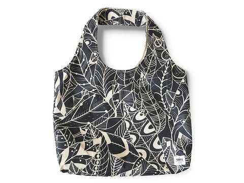 Everyday Bag by BBBYO - Poly Linen - Feather print