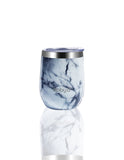 BBBYO Wine + Coffee Fix Cup stainless steel - insulated - 350 ml - Single Pack - White Marble