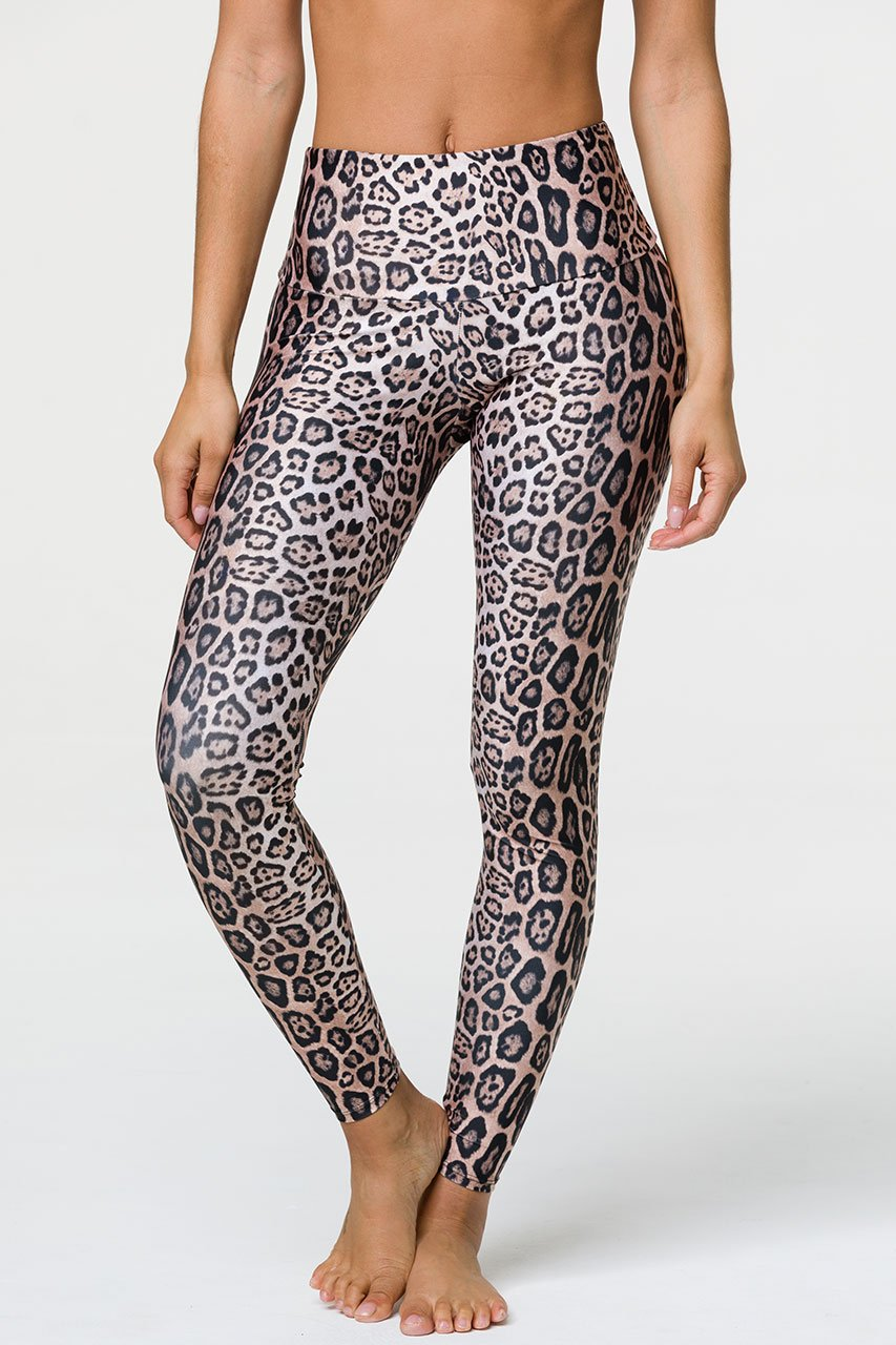 HIGH RISE LEOPARD LEGGING