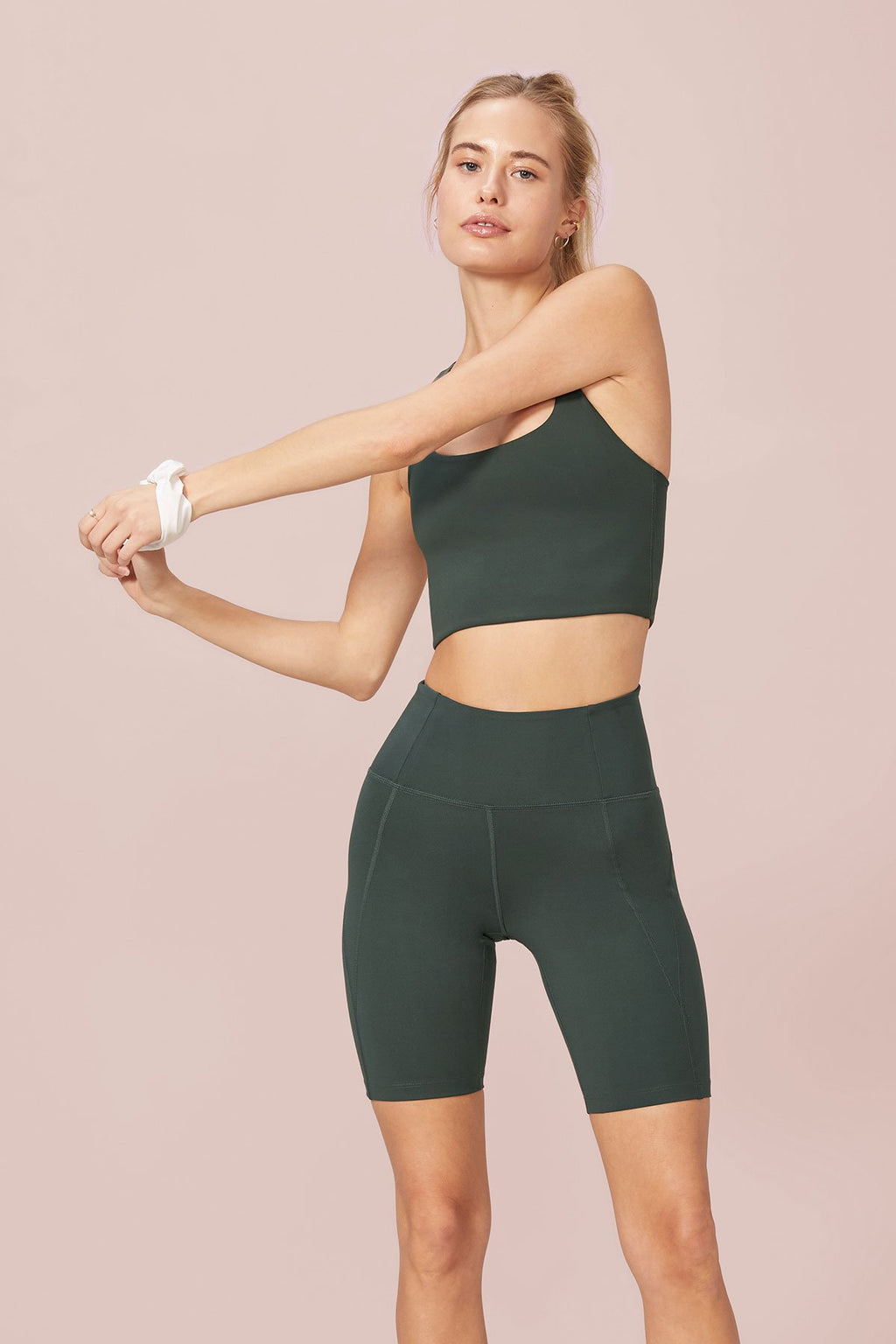 Moss High-Rise Bike Short