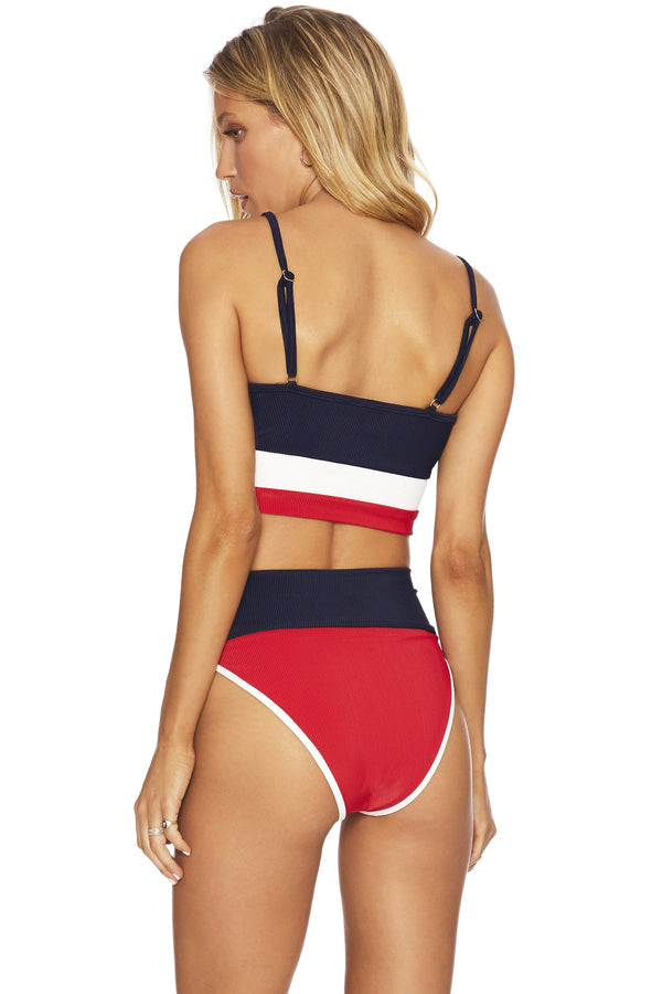 EMMY BOTTOM RED WHITE & BLUE