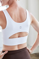 Elevate Bra White