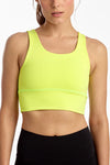 ELEVATE BRA WASHED CITRON