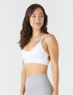 BEAM SPORTS BRALETTE WHITE