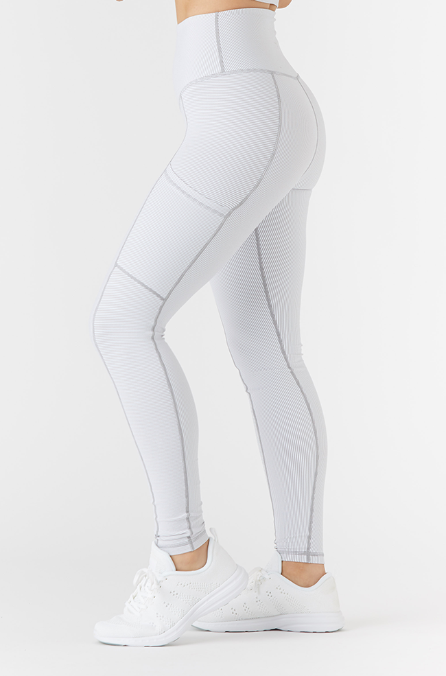 PEAK LEGGING GRANITE STRIPE