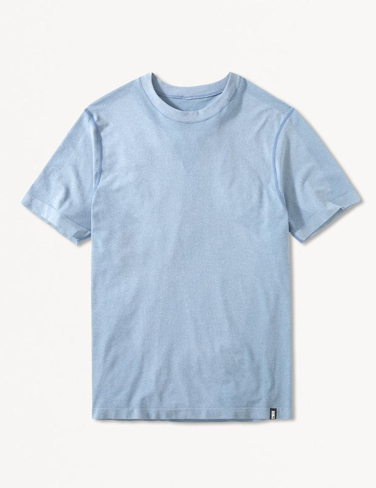 MENS TIMOR SHORT SLEEVE: DENIM BLUE