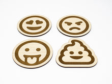 Load image into Gallery viewer, Emoji Coasters