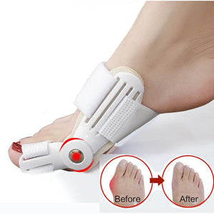 1 Pair Bunion Corrector Toe Separator Big Bone Thumb Protector Correction of the Thumb Pedicure Feet Care Tools