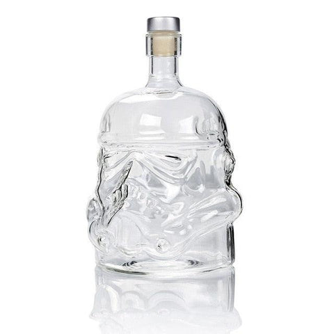 1 Pcs Storm Trooper Decanter Star Wars White Soldier Glass Jug Liquor Bottle High Boron Glass Bottle Wine 650ml