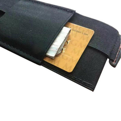 Portable Pouch Card Storage Bag Minimalist Invisible Wallet Organizer Card Holder Wallet Passport Holder