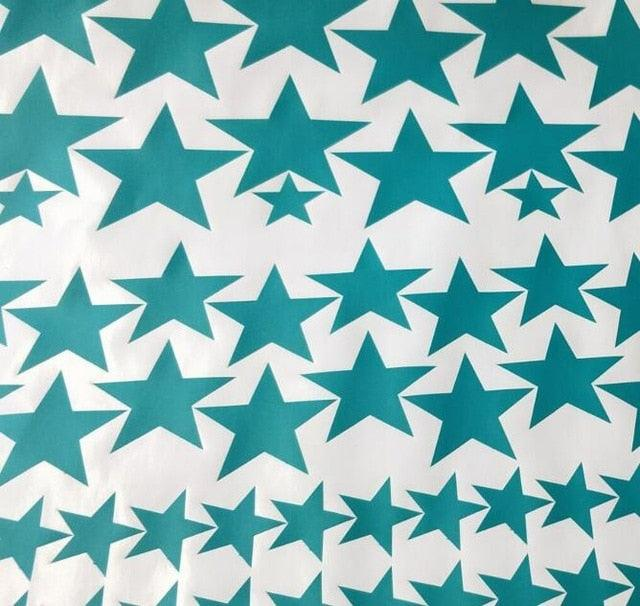 150pcs mixed size easy apply removable starry stars wall stickers, KIDS room environmental-friendly decor decal