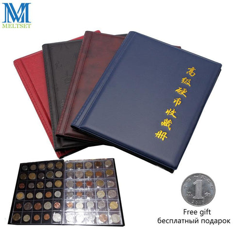 Image of 1PC Commemorative Coin Collection Book 10 Pages 250 Units Coin Album Collection Coin Holders Multi-Color
