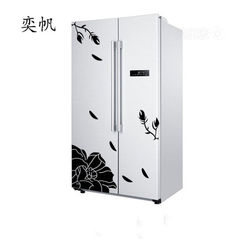 Image of High Quality Wall Sticker Creative Refrigerator Sticker Butterfly Pattern Wall Stickers Home Decor Wallpaper