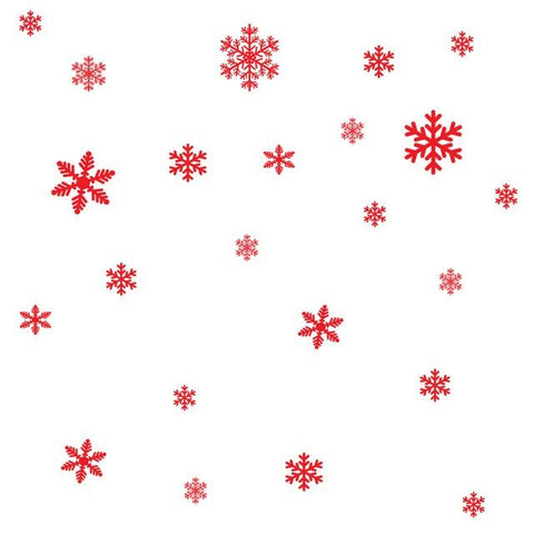 Image of 27Pcs/Lot Christmas Snowflake Window Sticker Winter Wall Stickers Kids Room Christmas Decorations for Home New Year Stickers