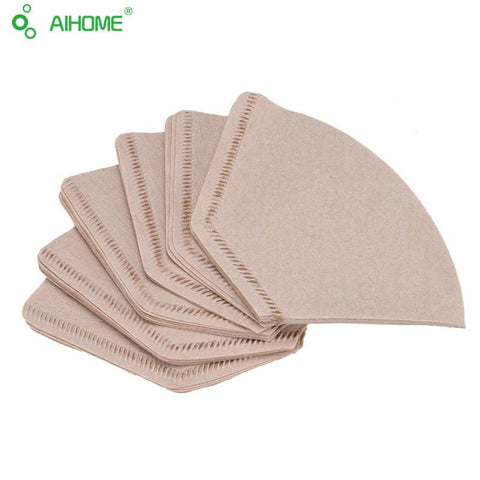 Image of 40pcs/lot Coffee Filter Paper for 101 Coffee Dripper Espresso Coffee Maker