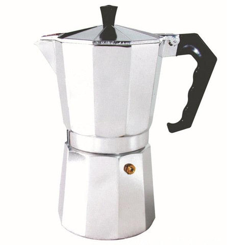 Image of 50/100/150/300/450/600ML Household Aluminium Latte Mocha Coffee Pot Stove Espresso Maker Tool Easy Clean for Home Office Coffee