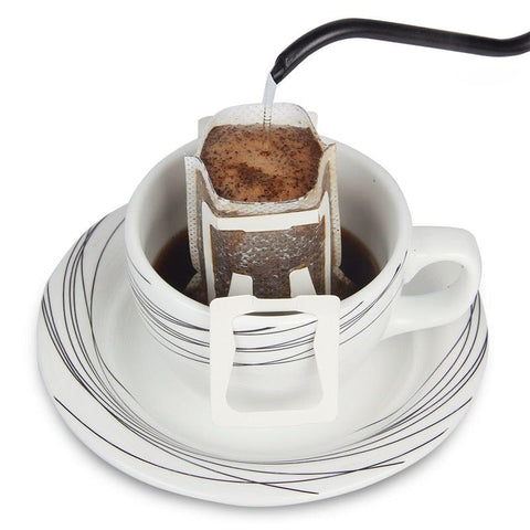 Image of 50Pcs / Pack Drip Coffee Cup Filter Bags Hanging Cup Coffee Filters Coffee and Tea Tools
