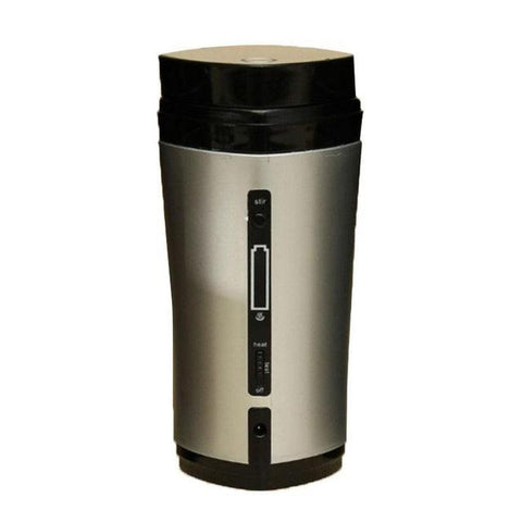Image of 1PC Coffee Automatic Stirring Cup Rechargeable Heating Insulation USB Coffee Heating Cup Drinkware