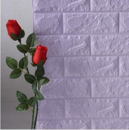 Image of 70x77cm DIY Self Adhesive 3D Wall Stickers Bedroom Decor Foam Brick Decor Wallpaper Wall Decor Living Wall Sticker For Kids Room