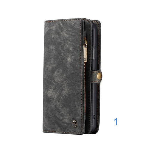 Image of Luxury Leather Case for iPhone X XR XS Max 8 7 6 6s Plus Phone Case Wallet Covers Magnetic Business Case For iPhone 11 Pro Max