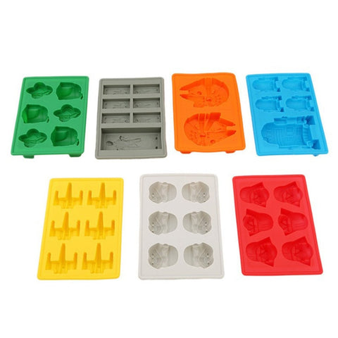 Ice Cubes Star Wars Ice Tray Silicone Mold Ice Cube Tray Chocolate Mold Death Star Darth Ice Beer Vodka