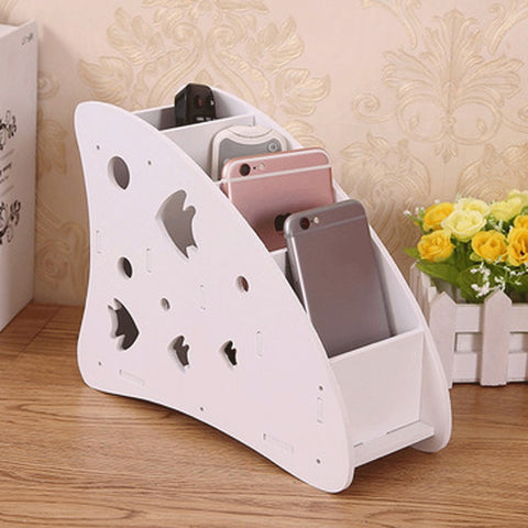 Image of Remote Control Desktop Organizer Storage Box