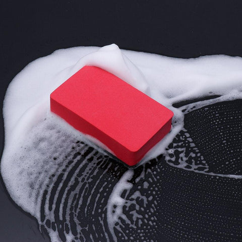 1 Pcs Car Magic Clay Bar Pad Sponge Block Auto Cleaner Cleaning Eraser Wax Polish Pad Tool
