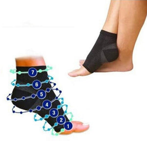 1 Pair Foot angel  anti fatigue outdoor men socks compression Breatheable foot sleeve Support Brace Sock