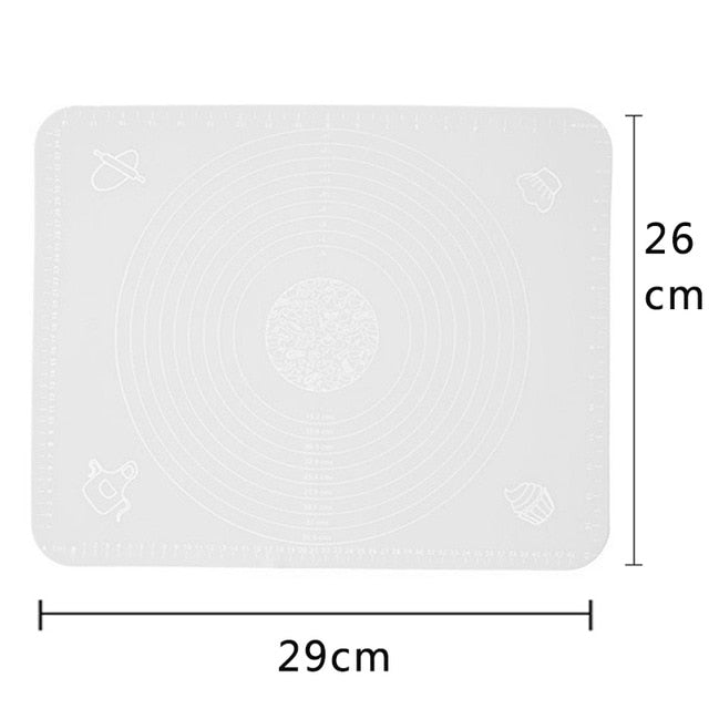 Ex-large Silicone Baking Mat for Oven Scale Rolling Dough Mat Baking Rolling Fondant Pastry Mat Non-stick Bakeware Cooking Tools
