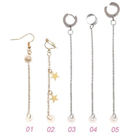 Fashion Anti-Lost Ear Clip Earphone Accessories Unisex Earrings for Airpods 1 2 3 For Airpods Pro Earrings Secure Fit Hooks