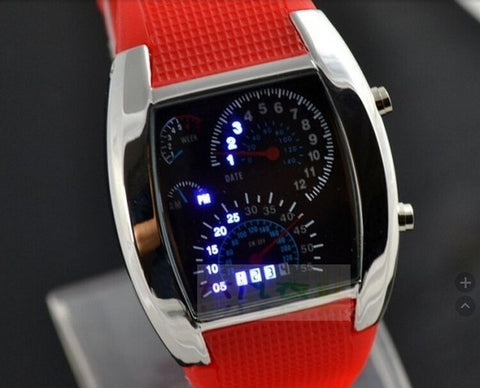 Image of Fashion Men's Watch Unique LED Digital Watch Men Wrist Watch Electronic Sport Watches Clock