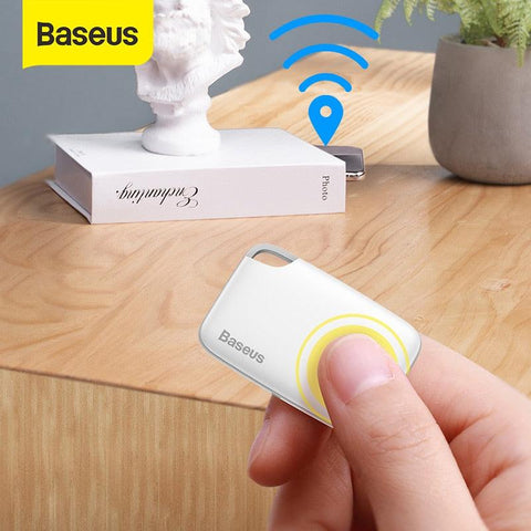 Image of Baseus Wireless Smart Tracker Anti-lost Alarm Tracker Key Finder Child Bag Wallet Finder APP GPS Record Anti Lost Alarm Tag
