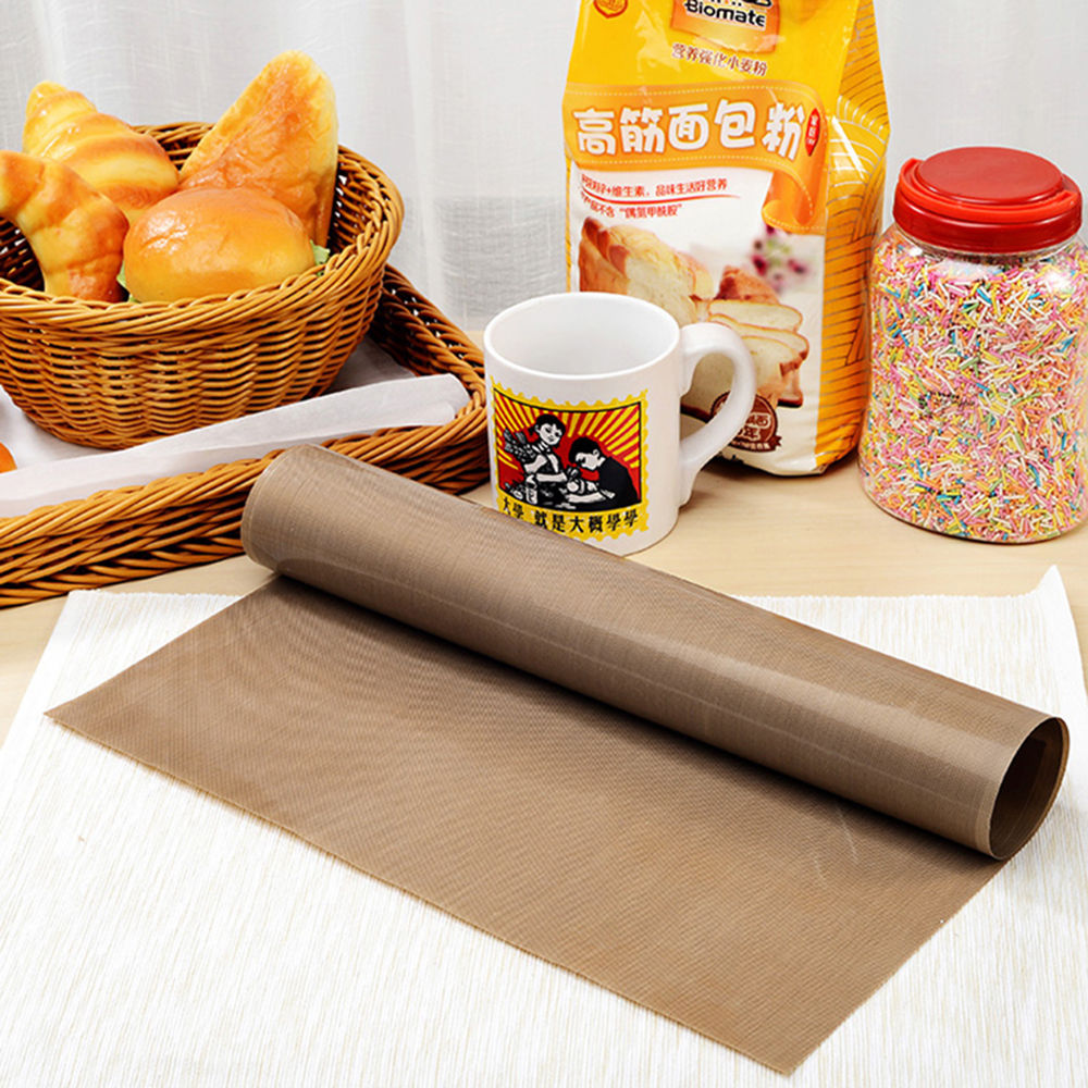 LINSBAYWU 30x40cm Pastry Baking Oilpaper Mat Oilcloth Non-stick High Temperature Resistant Fabric Cloth Baking Oven Oil Paper