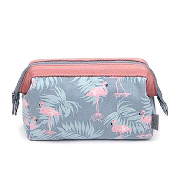 Flamingo Cosmetic Bag Women Necessaire Make Up Bag Travel Waterproof Portable Makeup Bag Toiletry Kits