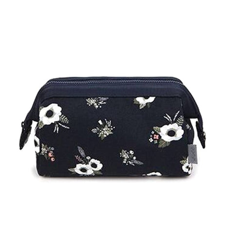 Image of Flamingo Cosmetic Bag Women Necessaire Make Up Bag Travel Waterproof Portable Makeup Bag Toiletry Kits